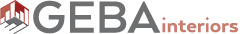 GEBA INTERIORS Logo